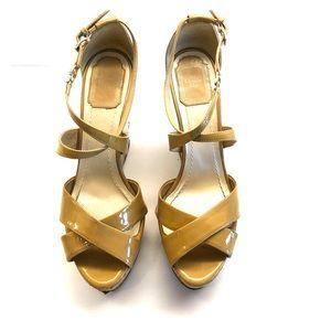 Dior Platform sandals.